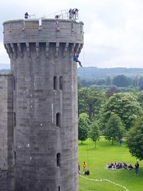 Castle abseil - bizspace