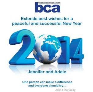 Season's Greetings from the BCA
