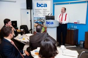 Justin Urquhart-Stewart, BCA Report launch